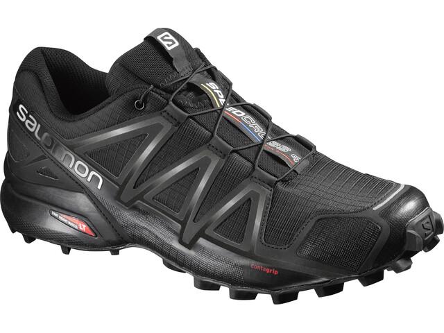 Salomon Speedcross 4 Wide Shoes Men Black/Black/Black Metallic